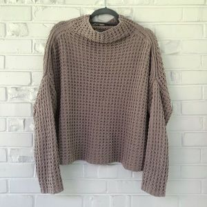 Urban Outfitters Oversized Waffle Knit Sweater S